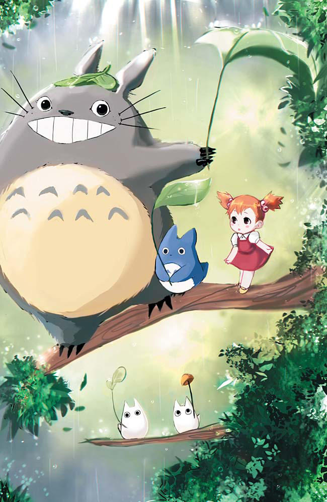 [F] Totoro by LavenderIced