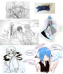 doodle dump- 2 by LavenderIced