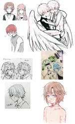 doodle dump 4 by LavenderIced