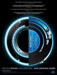 Daft Punk Tron: Legacy soundtrack for Oscar by bassgeisha