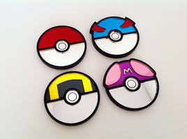 Pokeball Collection by ChinookCrafts