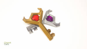 Legend of Zelda Boss Key: Version 2 by ChinookCrafts
