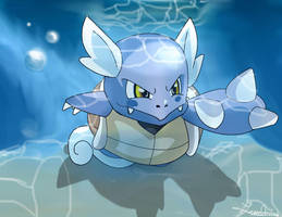 Wartortle by FoReal100