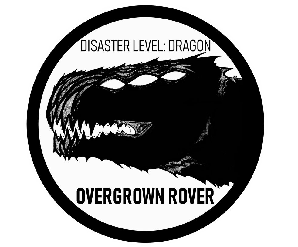 Disaster Level Dragon Overgrown Rover By Patchyfish On Deviantart