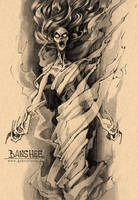 Dungeons and Dragons Monster II Banshee by gabrieldevue
