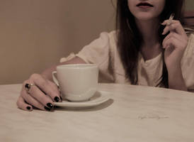 Coffee and Cigarette by pamcuez