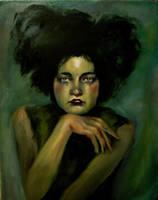 Self-Portrait as a Liepke Girl by Elsma