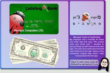Microjuk Cash and Credit Card by MatanArie