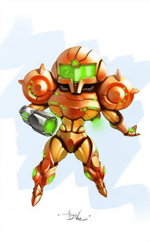 Samus by DUCKAZOID