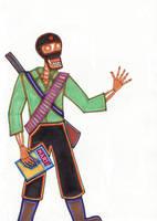 Subcomandante Marcos Skeleton by ElfceltRJL