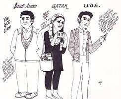 U.N. High School: The GCC Crew by ElfceltRJL