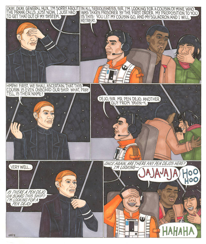 Poe's Prank Calls by ElfceltRJL