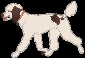Poodle Doodle by Crissiesaurus