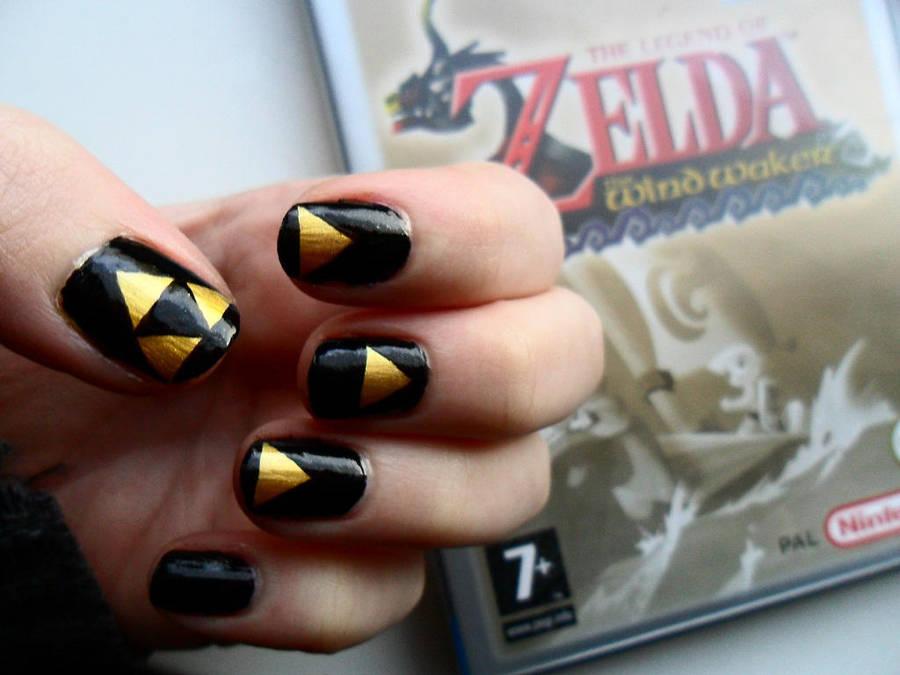 Zelda Nail Art By Ras Blackfire