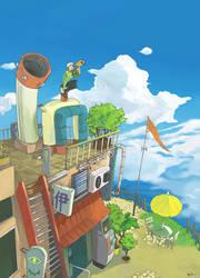 Skyscope by monkey-hero