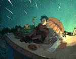 Meteor Shower - enonea mission by monkey-hero
