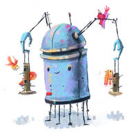ROBOTS 003 by RoboChandler