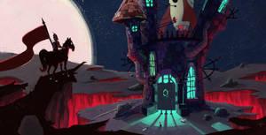Castle Spacenstein by RoboChandler