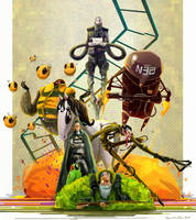 The Cobras by RoboChandler