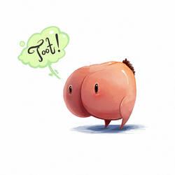 140426-Butt Critter by RoboChandler