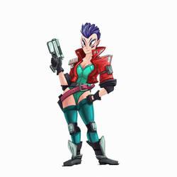 150624 Major Kusanagi - Color by RoboChandler