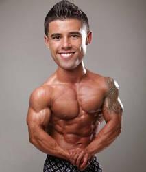 Shrunken Muscles/ Bobblehead by malemorphs