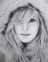 Winter Drawing by Martenator