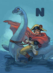 N for Napoleon and Nessie by ChateNoire