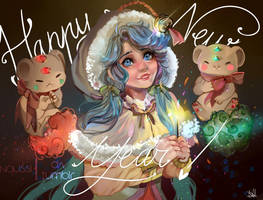 Happy New Year! by Naussi