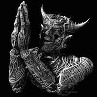 Praying Devil by meats