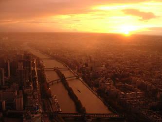 Parisian Sunset by sunnie