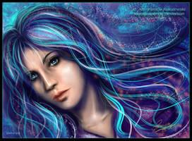 Blue Girl by Mutsumipat