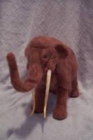 Needlefelt Woolly Mammoth I by RRedolfi