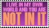 My World by tufto