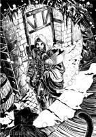 Les Chroniques de Yelgor - Knight by didizuka