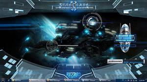Starcraft 2 using rainmeter by NiiruGiotto