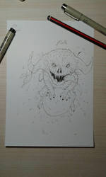 The Devil - Inktober Day 7 by Corati