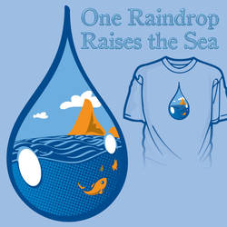 no single raindrop believes it is responsible for the flood meaning
