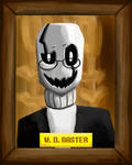 Welcome, vessel, Wing Ding Gaster here by DSakanumbuh419