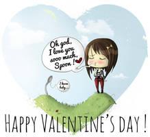 Happy valentine's day ! by Puru2