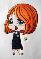 Dana Scully by Puru2
