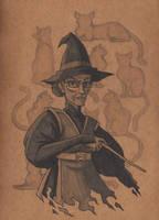 Minerva McGonagall by TakuSalvemini