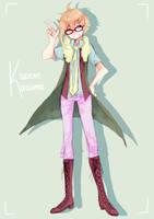 Kazene Kazuma by ChiliChizu