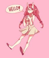 Hello! by ChiliChizu
