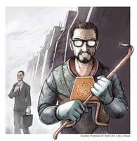 Gordon Freeman by jjnaas