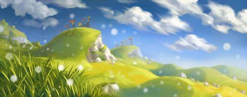 Grassy Hills by jjnaas