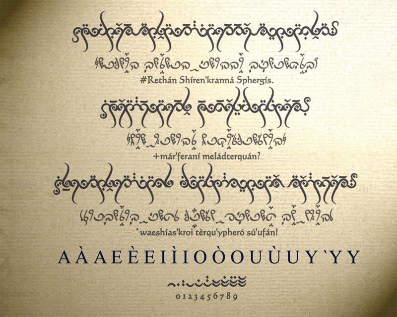 Elven Runes by Mangalore