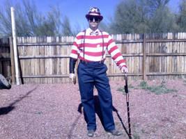Steampunk Waldo by pyrodice