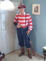 Steampunk Waldo III by pyrodice