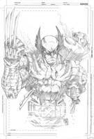 Wolverine by MARCIOABREU7